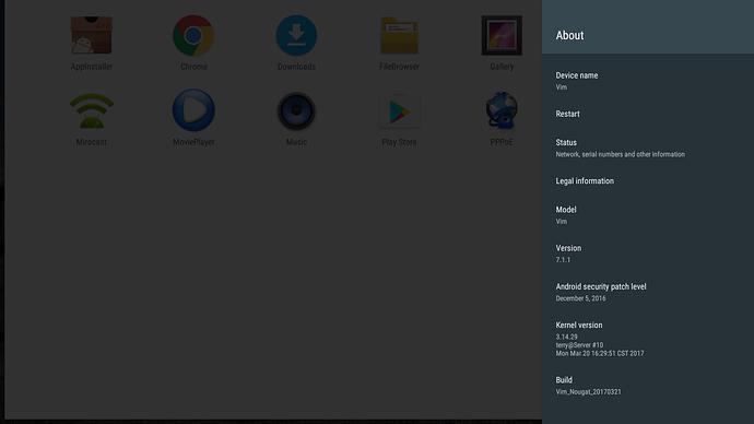 Android Nougat(7 1 1) Rom Release - Announcements - Khadas