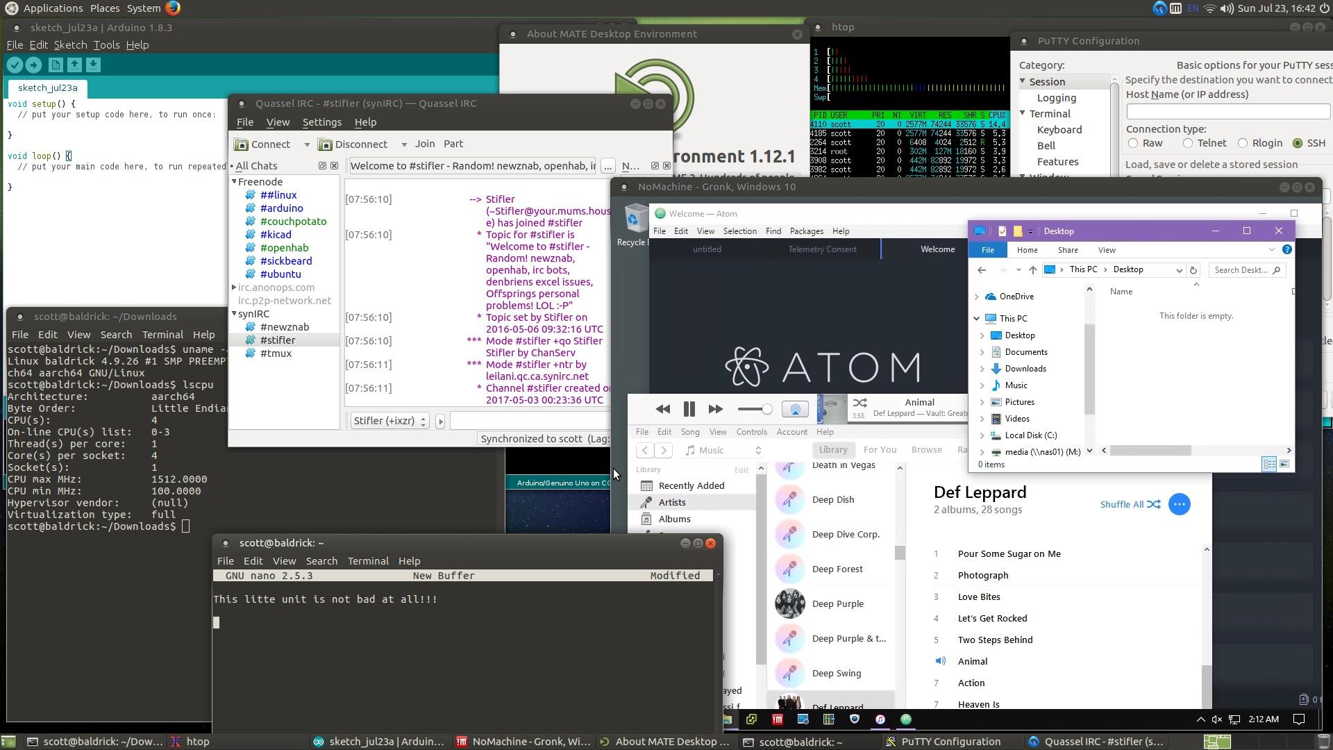 Build Ubuntu 16 04 2 (or 17 04) w/ Mate and Linux-4 9