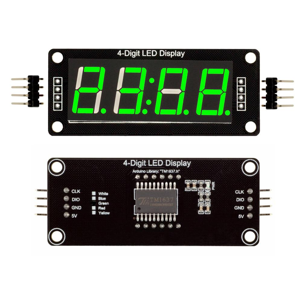 TM1637-4-Digit-LED-0-56-0-56inch-7-Segments-Display-Digital-Tube-Clock-Double-Dots