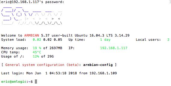 SSH Into Vim2 Max through router over wifi - VIM2 - Khadas
