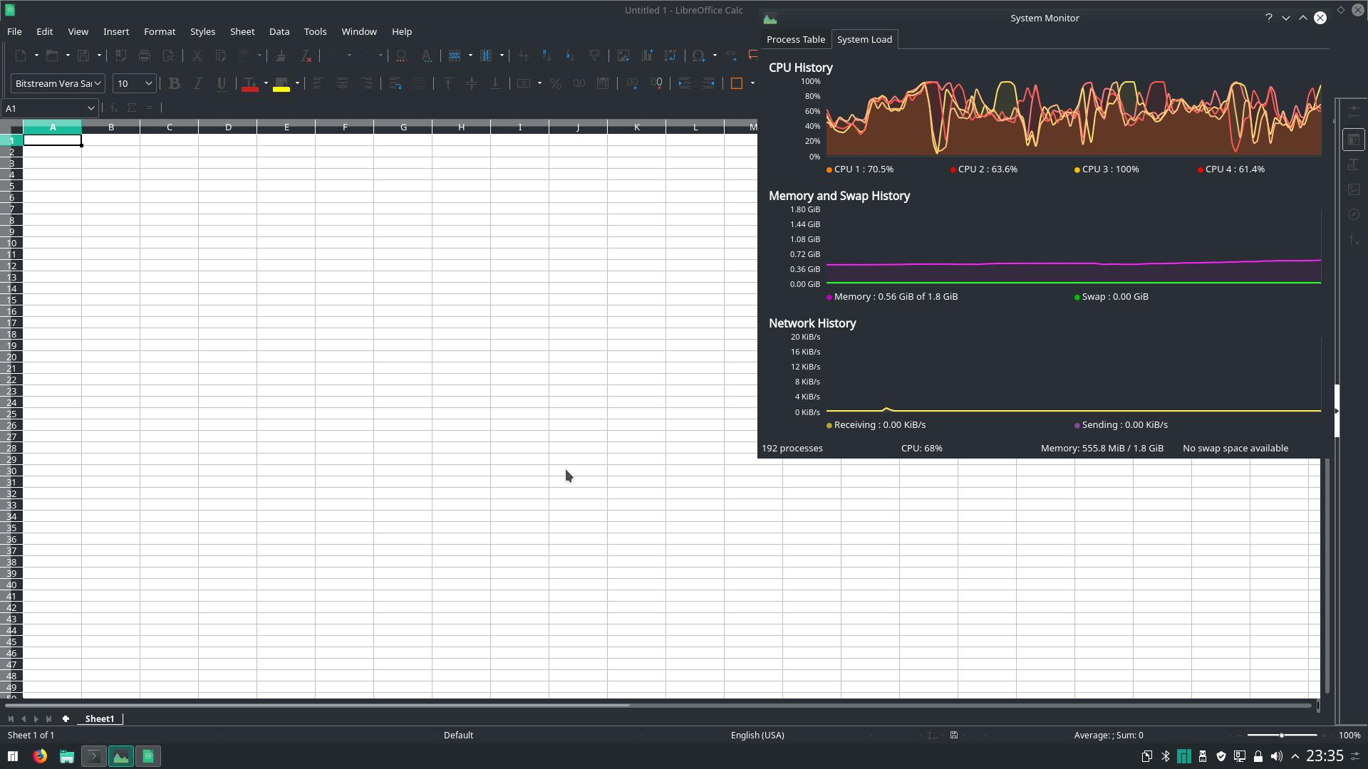 Manjaro Linux - Desktop Environment for KVIM1 - VIM1