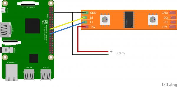 Raspberry-Pi-WS2801B-RGB-LED-Stripe-Schaltplatine-600x296